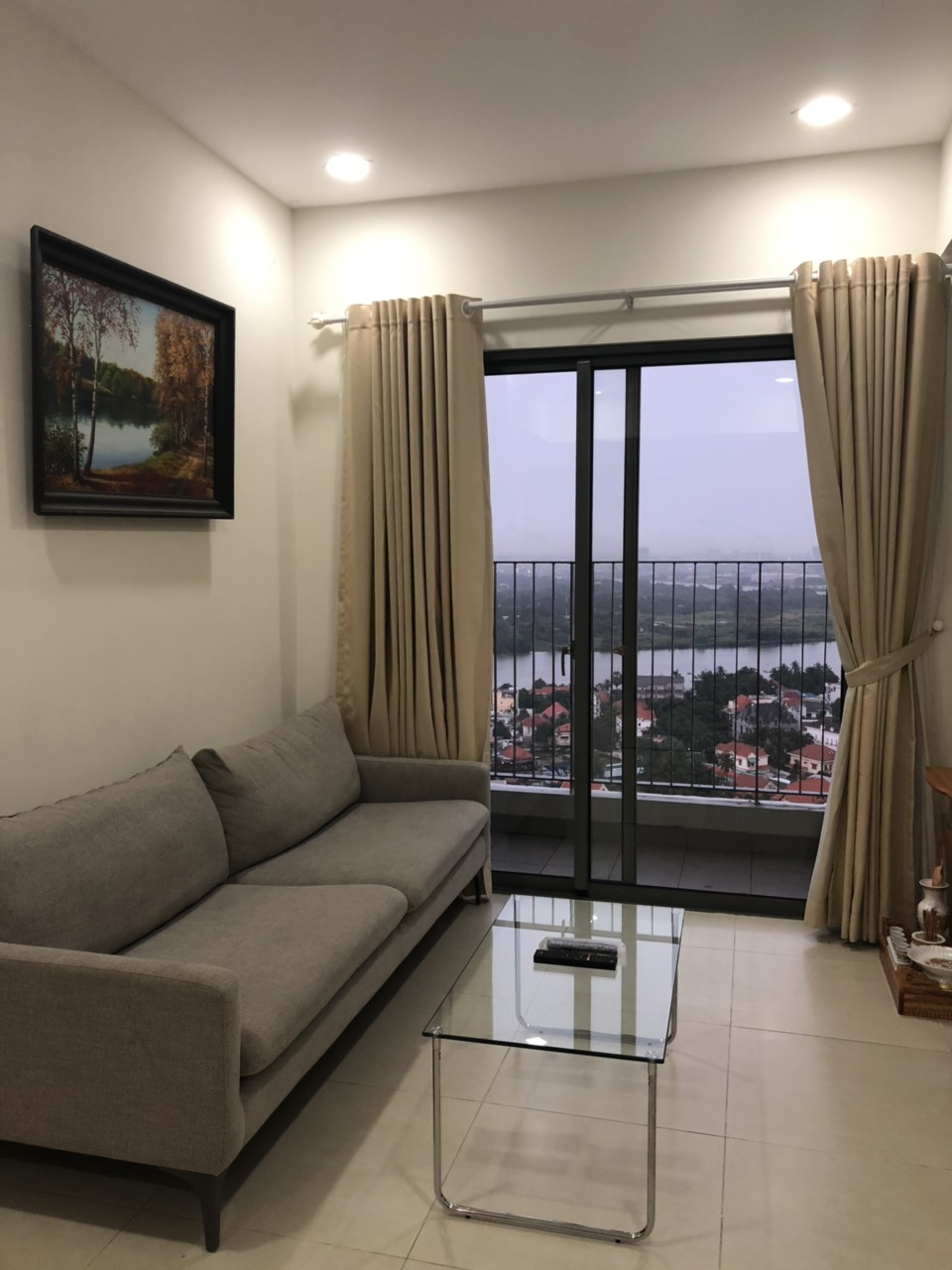 River view Masteri Thao Dien apartment for rent 2 bedrooms, fully furnished with $1000!