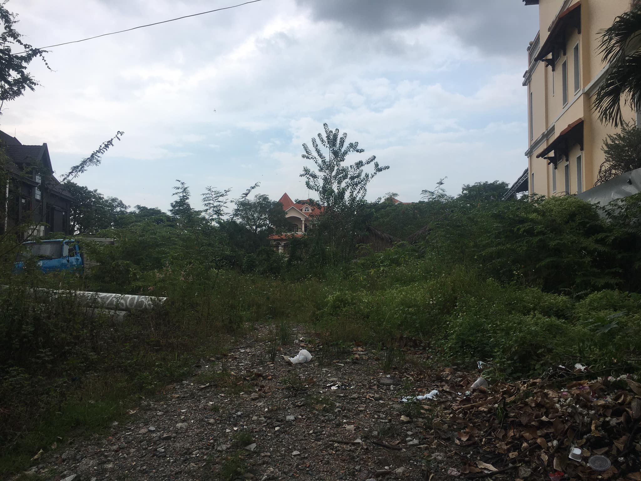 Land for rent at Thao Dien
